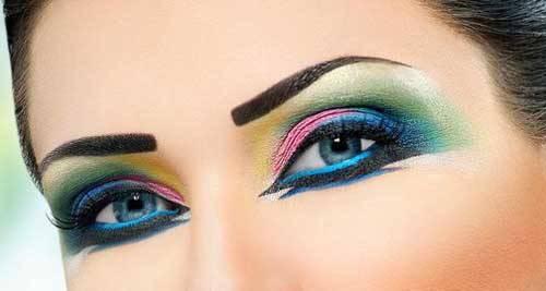 اشتباهات رایج در آرایش چشم