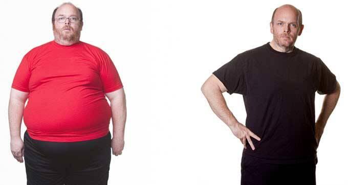 چگونه لاغر شویم؟ رژیم لاغری جدید مخصوص آقایان چاق!