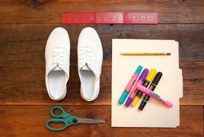 آموزش نقاشی روی کفش کتانی و کهنه!+تصاویر