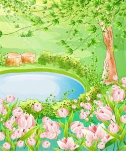 شعر کودکانه و زیبای من بهارم
