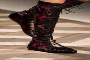 جدیدترین مدل کفش های زنانه اولین هفته مد 2016