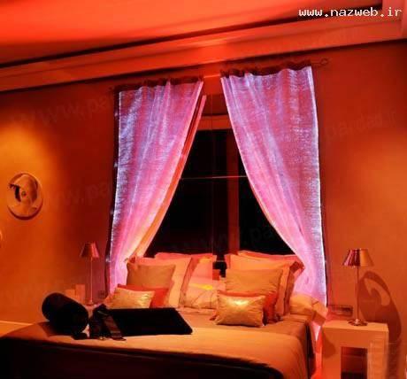پارچه هایی سحرآمیز که در شب میدرخشند/ تصاویر