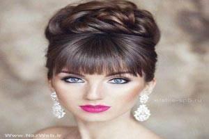 زیباترین مدل میکاپ شینیون و رنگ موهای اروپایی