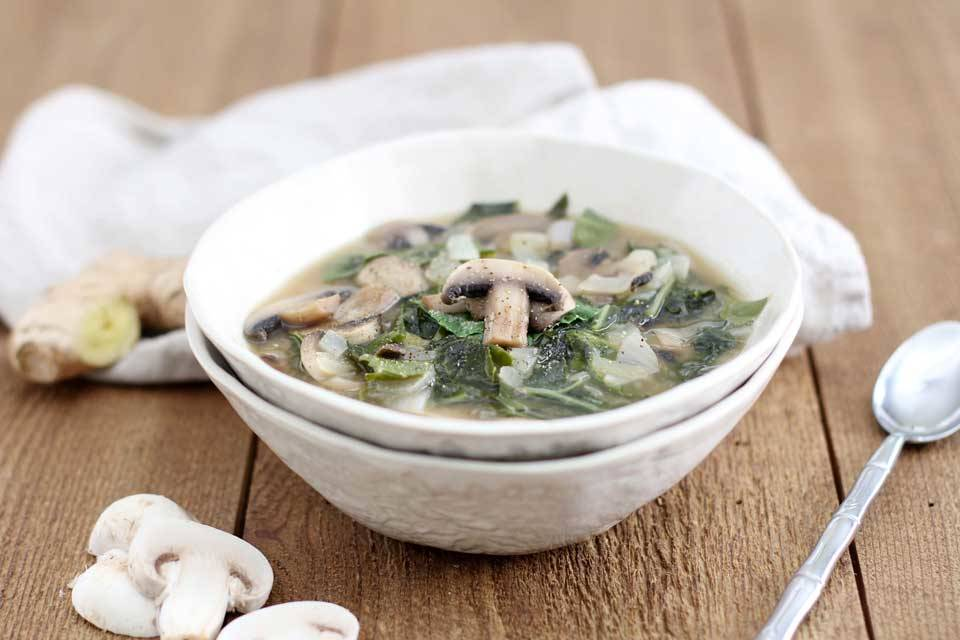 طرز تهیه سوپ میسو با قارچ - دستور پخت سوپ ژاپنی خوشمزه