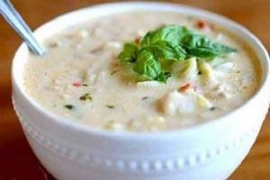 طرز تهیه سوپ شیر و اسرار بر خوشمزه تر شدن با خامه !