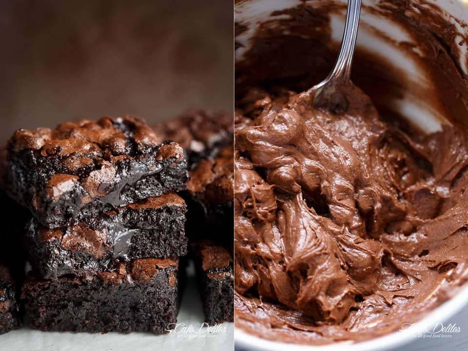 طرز تهیه براونی شکلاتی | چگونه خوشمزه ترین کیک براونی را درست کنیم؟