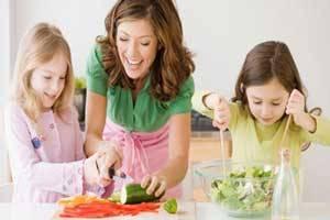 مهم ترین وعده های غذایی کودکان زیر 7 سال