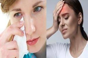 علت درد پیشانی و پشت چشم ها/ علت سردردهای عصرگاهی و صبحگاهی