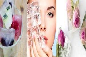 کاربردهای یخ در زیبایی و ثروت شما ! ترفندهای یخی و جالب در خانه داری